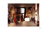 The Artist's Studio, Rue de la Condamine Giclee Print by Frederic Bazille
