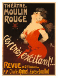 Theatre du Moulin Rouge Giclee-vedos