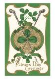 St. Patrick's Day, Shillelaghs, Art Print