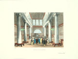 Stock Exchange Print by Melville Gilbert