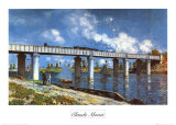Bridge Poster by Claude Monet
