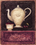 Time for Tea and Berries II Print by Herve Libaud
