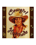 Cowgirl Hattitude Giclee Print