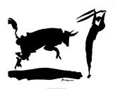 Tjurfäktning III Affischer av Pablo Picasso