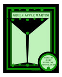 Green Apple Martini Photographic Print by Liza Sirena Phoenix