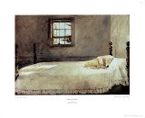 Chambre du maître de maison Affiches par Andrew Wyeth