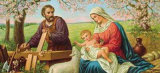 Heilige Familie Arte por Gustav Klimt