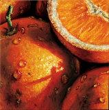 Oranges Print by  Alma'ch
