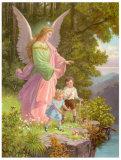 Heilige Schutzengel Poster