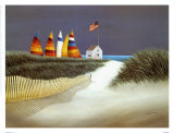 Summer Rental Print by Lowell Herrero