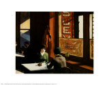 Chop Suey Posters par Edward Hopper