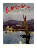 French Evian les Bains, 1905 Giclee Print