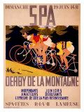 Spa - Derby de la montagne Impression giclée par Charles Gilbert