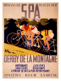 Derby de la Montagne Giclee Print by Charles Gilbert
