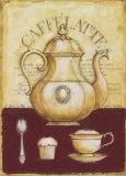 Kaffee und Muffin Kunstdrucke von G.p. Mepas