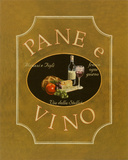 Pane e Vino Posters by Catherine Jones