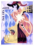 Bal des Arts Giclee Print by H. Amoro