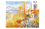 Villas at Bordighera Reproduction procédé giclée par Claude Monet
