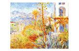 Villas at Bordighera Giclée-tryk af Claude Monet