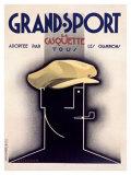 Grand Sport, 1931 Gicléedruk van Adolphe Mouron Cassandre