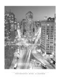 Flatiron Building at Night Prints by Henri Silberman