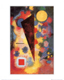 R&#233;sonance multicolore, 1928 Affiches par Wassily Kandinsky