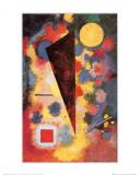 Résonance multicolore, 1928 Affiches par Wassily Kandinsky