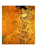 Portrait of Adele Bloch-Bauer I Gicléetryck av Gustav Klimt