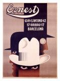 Ernest Barcelona Giclée-Druck von Adolphe Mouron Cassandre