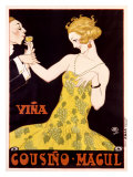 Vina Cousino Magul Giclee Print by René Vincent
