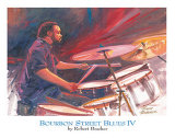 Bourbon Street Blues IV Prints by Robert Brasher