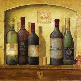 Mehrere Weinflaschen IV Poster von G.p. Mepas