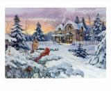 Souvenirs d'hiver Art par Alan Sakhavarz