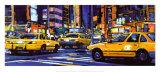 Yellow Cabs, New York City Prints by Roy Avis