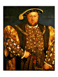 Henry VIII Giclee Print by Hans Holbein the Younger