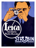 Leica Range Finder Camera Poster Gicl&#233;e-Druck von Hubert Saget
