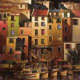 金色の地中海 高品質プリント : マイケル・オトゥール