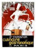 Exposition Culinaire et Gastronomique de Paris Giclee Print