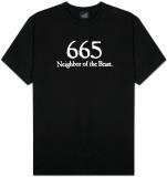 665 Il vicino della Bestia Maglietta