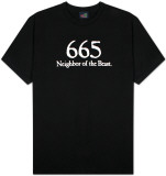 665 Neighbor of the Beast T-shirts