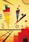 Fr&#246;hliche Struktur Poster von Wassily Kandinsky