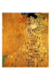 Portrait of Adele Bloch-Bauer I Reproduction procédé giclée par Gustav Klimt