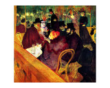 At the Moulin Rouge Giclee Print by Henri de Toulouse-Lautrec