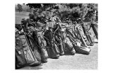 Golf Clubs at the Course Gicleetryck