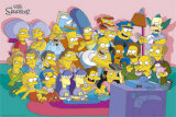 Les Simpsons Affiche