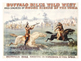 Buffalo Bill's Wild West, Congress Giclée-Druck