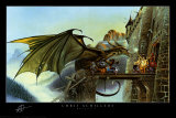 Dragon Spell Posters by Chris Achilleos