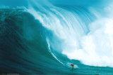 Surfista de olas Pósters