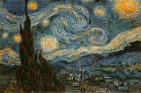 Starry Night, c.1889 Print by Vincent van Gogh