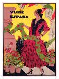 Visite Espagne Giclee Print
